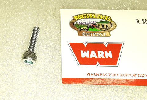 WARN 5553 Cap Screws, Socket Head, 10-24 x 3/4, for 9.5ti, 9.5cti Winch