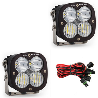 BAJA DESIGNS 567803 LED Light Pods Driving Combo Pattern Pair XL Sport Series