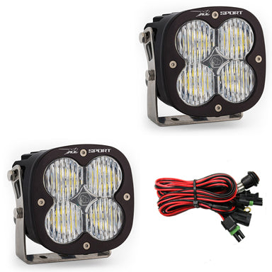 BAJA DESIGNS 567805 LED Light Pods Wide Cornering Pattern Pair XL Sport Series