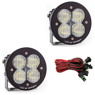 BAJA DESIGNS 577805 LED Light Pods Wide Cornering Pattern Pair XL R Sport Series