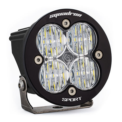 BAJA DESIGNS 580005 LED Light Pod Clear Lens Wide Cornering Pattern Each Squadron R Sport