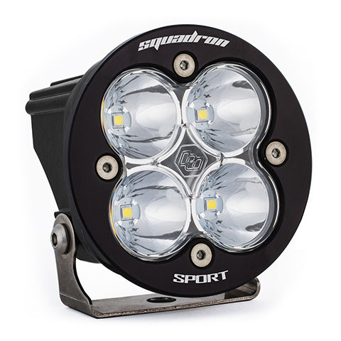 BAJA DESIGNS 580006 LED Light Pod Clear Lens Work/Scene Pattern Each Squadron R Sport