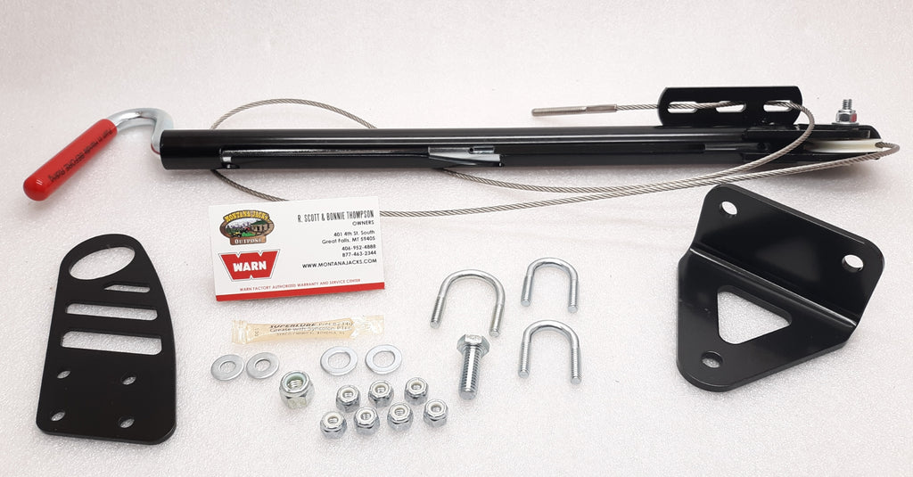WARN 62685 Manual Plow Lift for Yamaha Grizzly