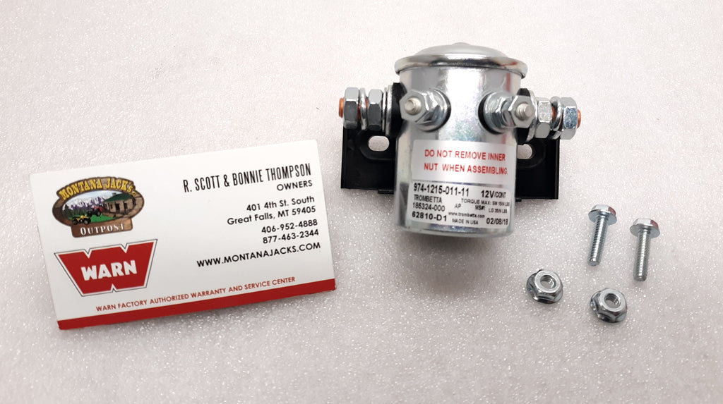 WARN 62871 12 Volt Solenoid Switch for Warn A2000 lb. Winch
