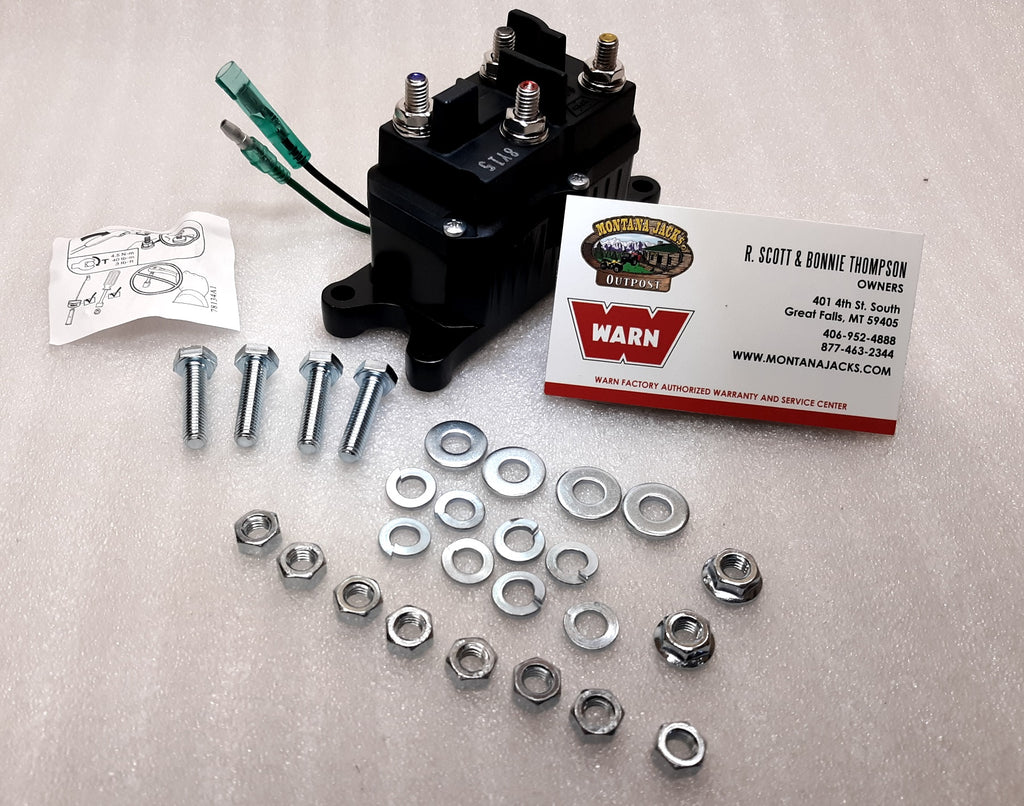 warn 12 volt contactor for warn atv winches, free shipping     warn atv  winch contactor wiring diagram - wiring diagram on warn xd9000i