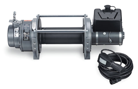 WARN 65932 Series 15 DC Industrial Winch, 24v Electric