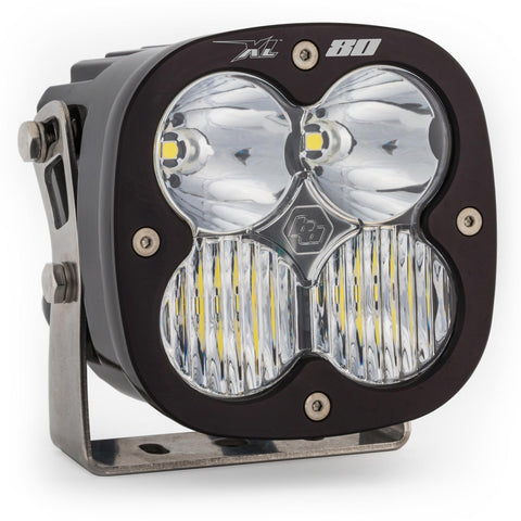 BAJA DESIGNS 670003 LED Light Pods Clear Lens Spot Pair XL80 Driving/Combo