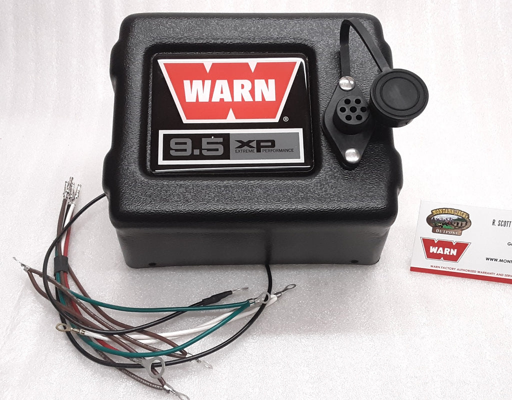 WARN 68610 Control Pack Cover for 9.5xp and 9.5xp-s Truck/SUV Winches