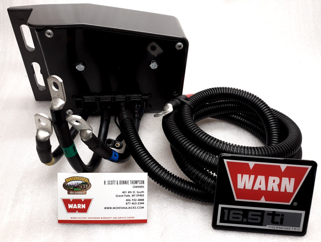 WARN 68774 Winch Solenoid Control Pack for 16.5ti
