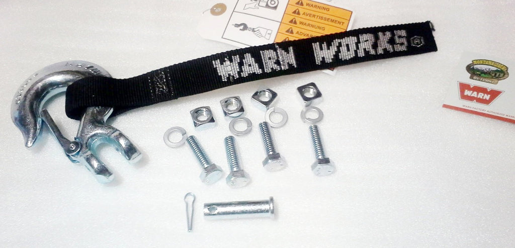 WARN 69030 Hook and Hardware Kit for WW4700 Winch