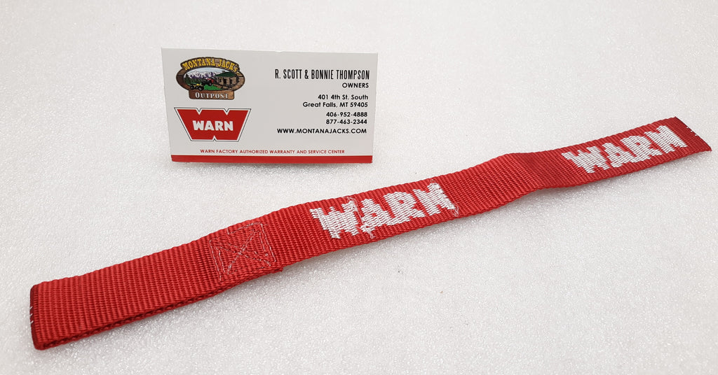WARN 69645 Winch Hook Safety Strap