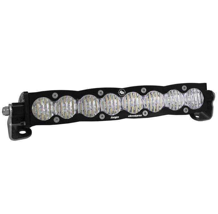 BAJA DESIGNS 701014 10 Inch LED Light Bar Spot Pattern Amber Lens S8 Series