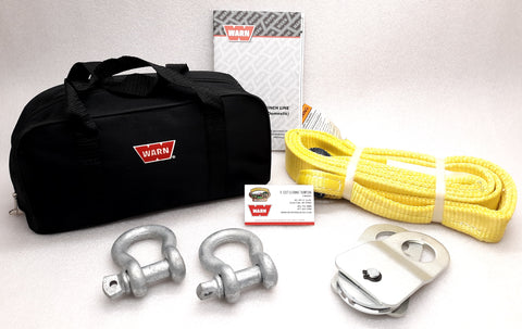 WARN 70792 Utility Winch Rigging Kit, for Winches up to 4500 lbs.