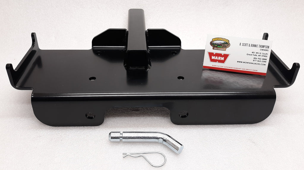 "WARN 70925 Multi-Mount Portable Winch Carrier for 1-1/4"" Receiver"