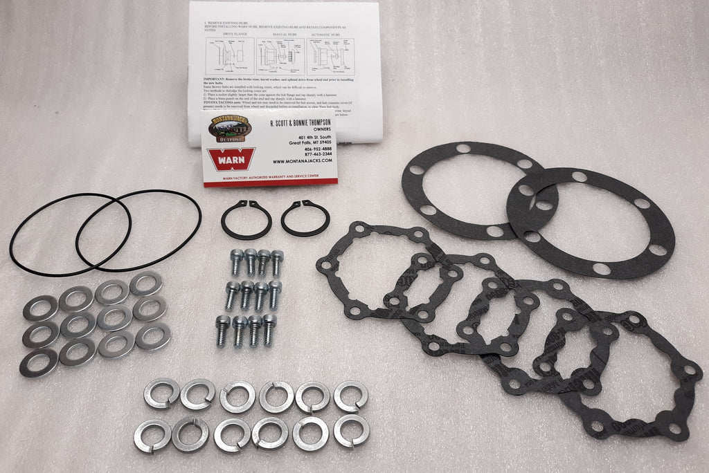 WARN 7300 4WD Hub Service Kit for M54, M195 4x4 Hubs