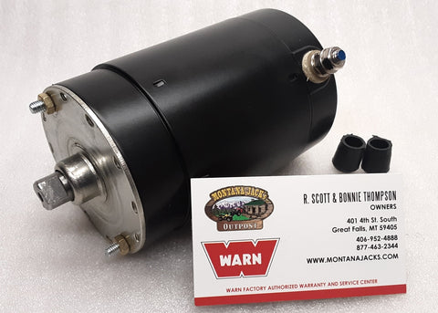 WARN 74853 Permanent Magnet Hoist Motor, 12V, for DC1200 Hoist