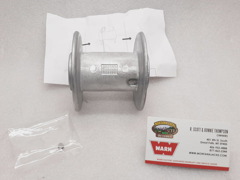 WARN 74922 Winch Drum for ProVantage 25/35, RT/XT 25/30, DC800, Vantage 3000