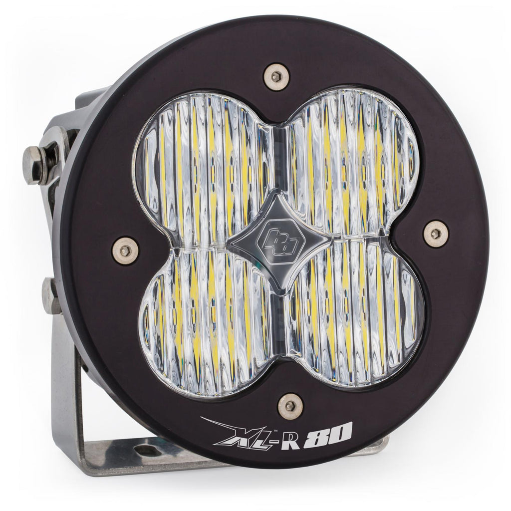 BAJA DESIGNS 760005 LED Light Pods Clear Lens Spot Pair XL R 80 Wide Cornering