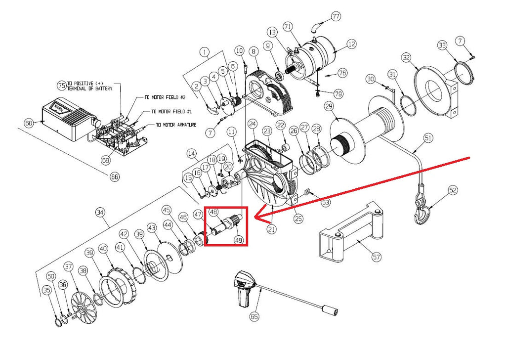 Superwinch Parts Diagram Diagram Part Wiring Diagram Yer
