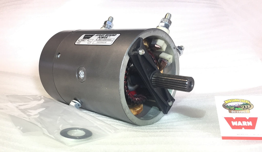 WARN 77892 Replacement Winch Motor, 12v, for XD9000, XD9000i, M8274