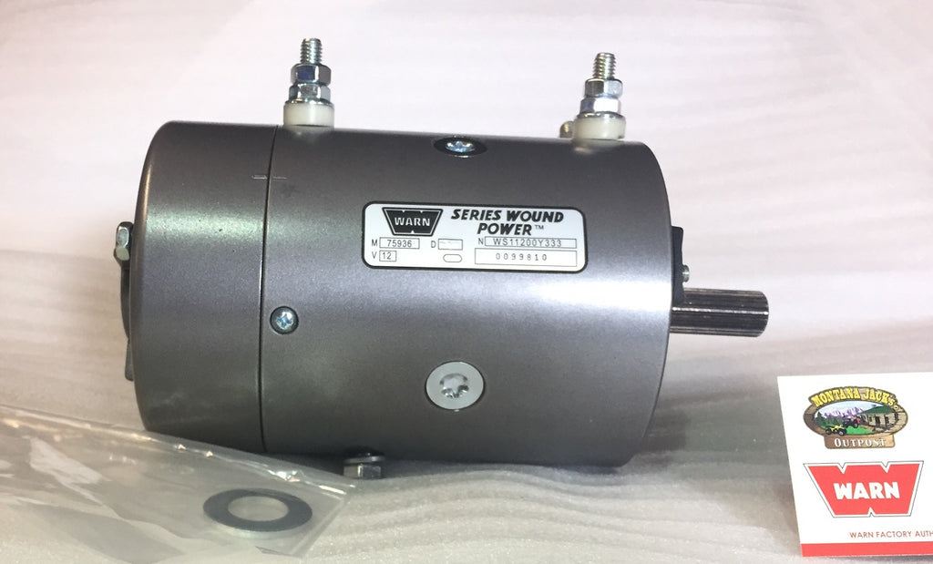 WARN 77892 Winch Motor, 12v, for XD9000, XD9000i, M8274 Winches