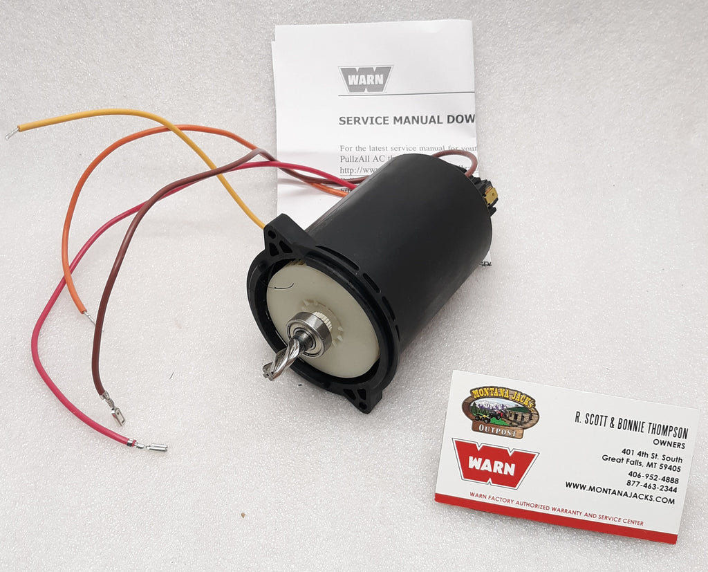 WARN 77914 Motor for 120 volt AC PullzAll