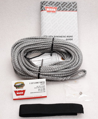 WARN 78388 Synthetic Winch Rope, ProVantage 4500, Vantage 4000, RT/XT 40, 4.0ci