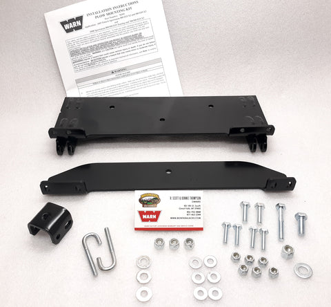 WARN 78395 ATV Center Plow Mount for 2007-08 Polaris Sportsman X2 - 500, 700, 800