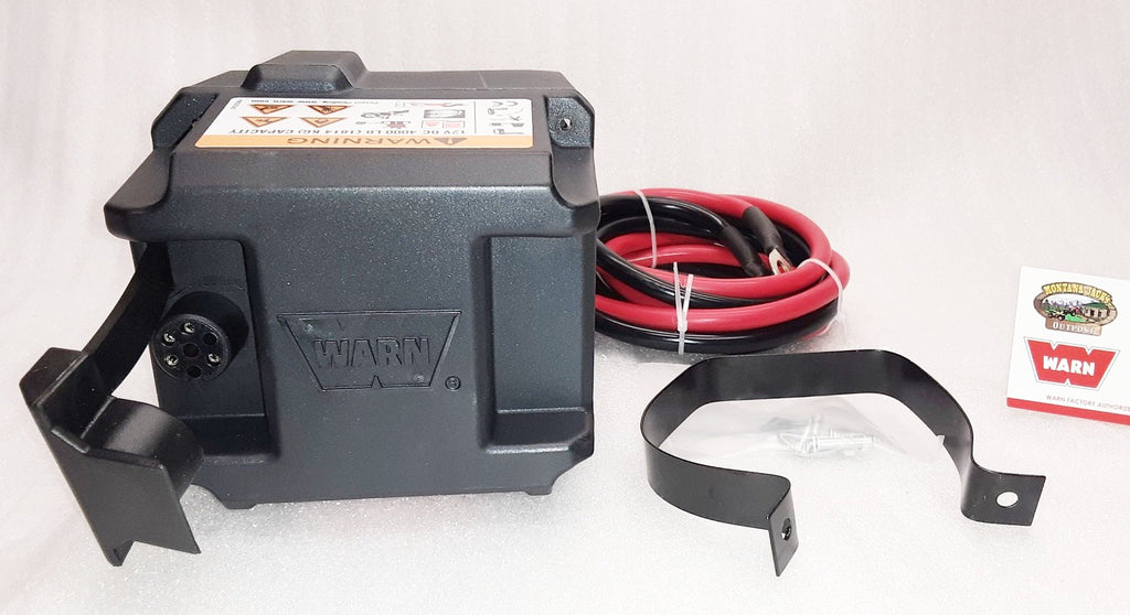 WARN 78989 Winch Contactor Kit for WW3700, 4000 DC