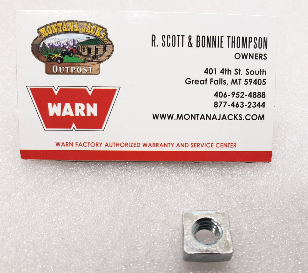 WARN 7953 Square Nut - For M8274