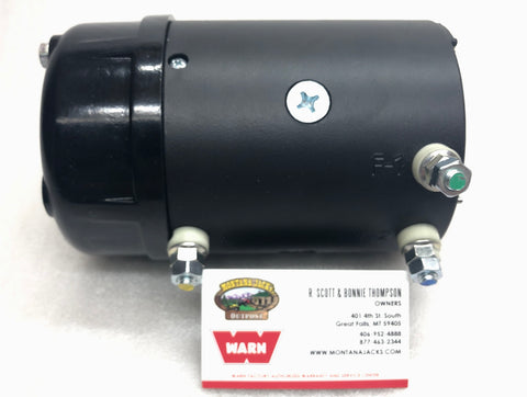 WARN 79599 Winch Motor for 12.0 Endurance Truck Winch, Fan cooled