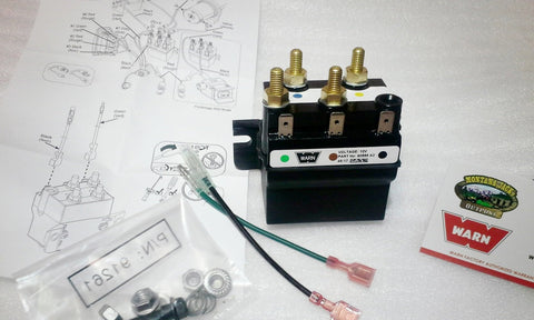 WARN 83321 Hoist Contactor, 12 volt, for DC800, DC1000, DC1200