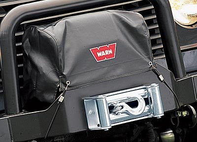 WARN 8557 Soft Winch Cover for the M8274-50, Includes two bungee cords