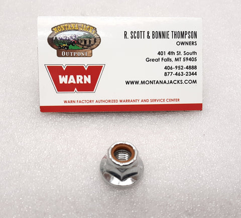 WARN 87166 Mounting Nut for ZEON and ZEON Platinum Winch