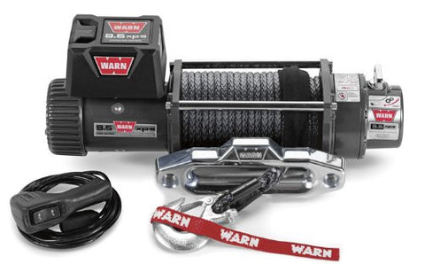 WARN 87310 9.5XP-S 12 Volt Winch w/Synthetic Rope