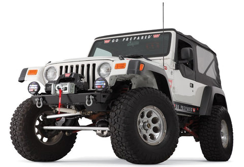WARN 87700 Rock Crawler Bumper for JEEP