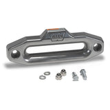 WARN 87914 Hawse Fairlead, Polished Aluminum for Synthetic Truck/SUV/Jeep Winch