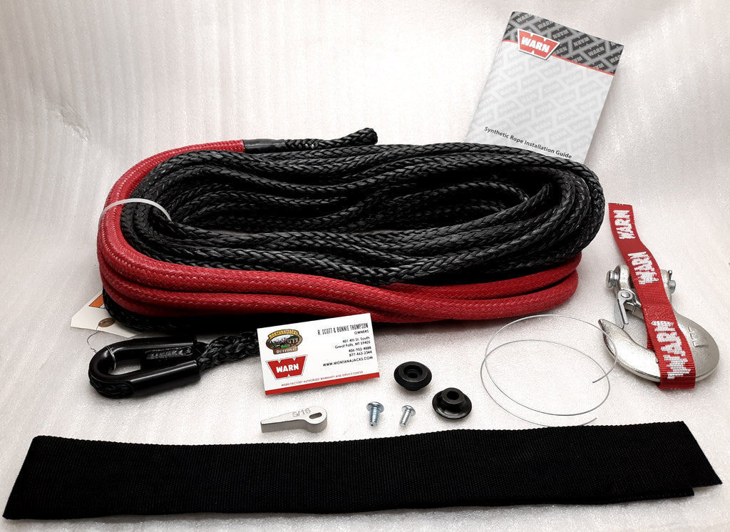 "WARN 87915 Spydura Synthetic Rope - 3/8""x100'"