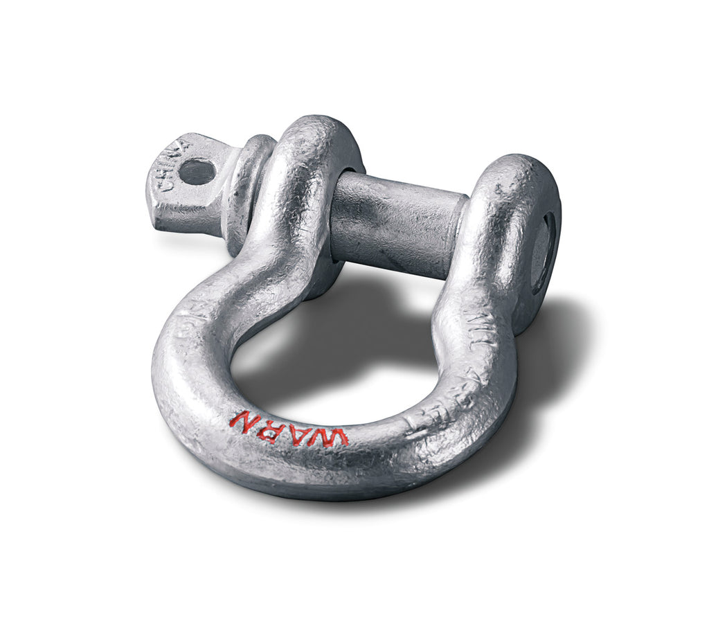 "WARN 88999 3/4"" Shackle for use with Winches 18000 lb. & under, 7/8"" Pin Diameter"