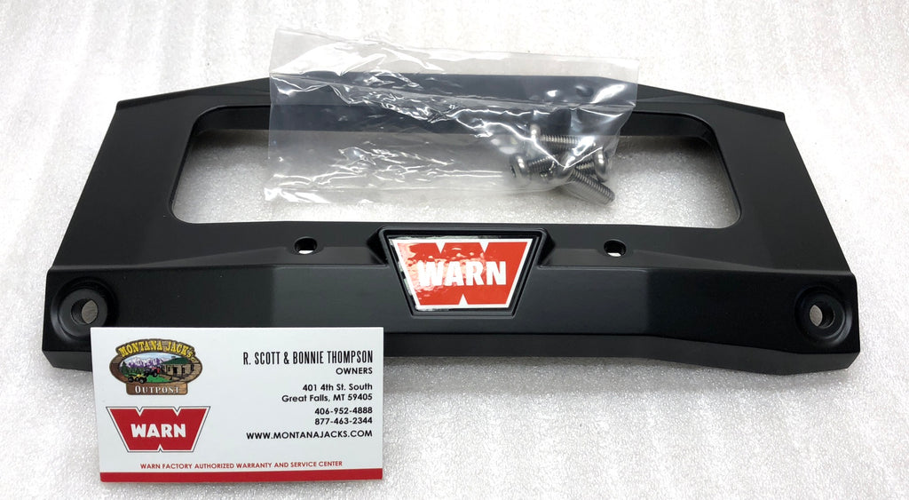 WARN 89242 Tie Plate for ZEON and ZEON Platinum