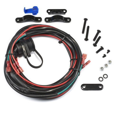 WARN 89586 Remote Control Socket & Wire Harness for Vantage 4000 ATV Winch