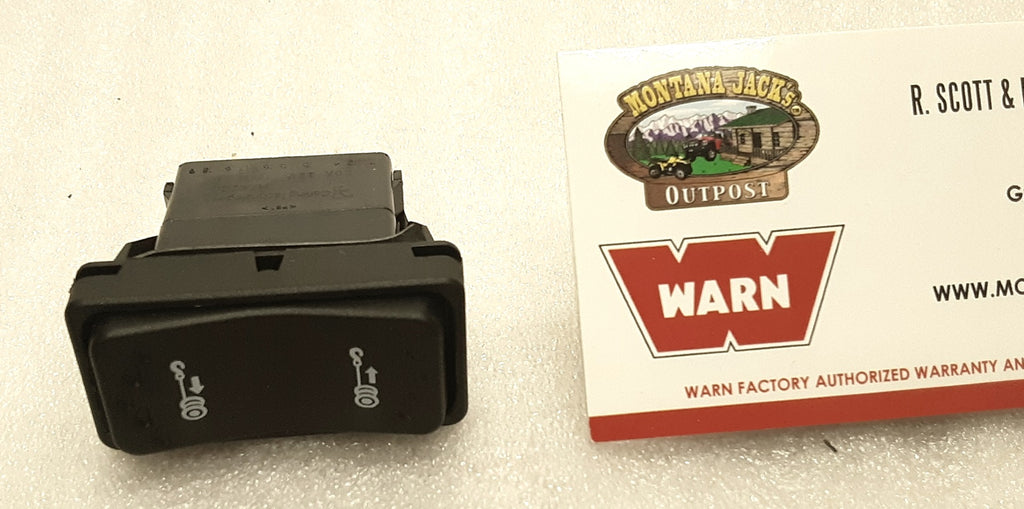 WARN 89587 Dash Rocker Switch for Vantage 4000