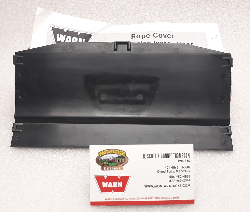WARN 89775 Solid Winch Rope Cover for Zeon Winches