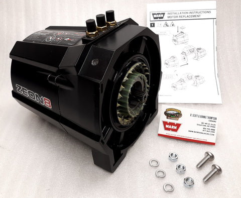 WARN 89931 Winch Motor for ZEON 8 & ZEON 8 Multimount
