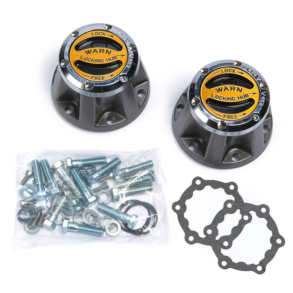 WARN 9072 4WD Hub Set