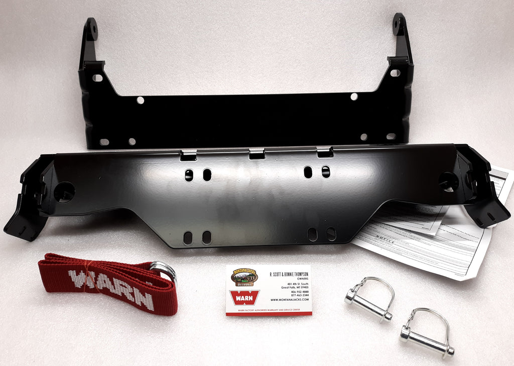 WARN 90865 UTV Front Plow Mount for 2018-19 Yamaha Wolverine X2, X4