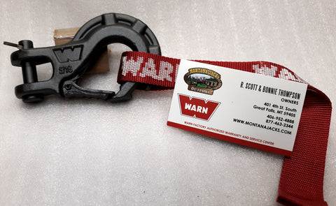 "WARN 92089 Epic Premium Winch Hook 5/16"" for Winches up to 5,000 lbs."