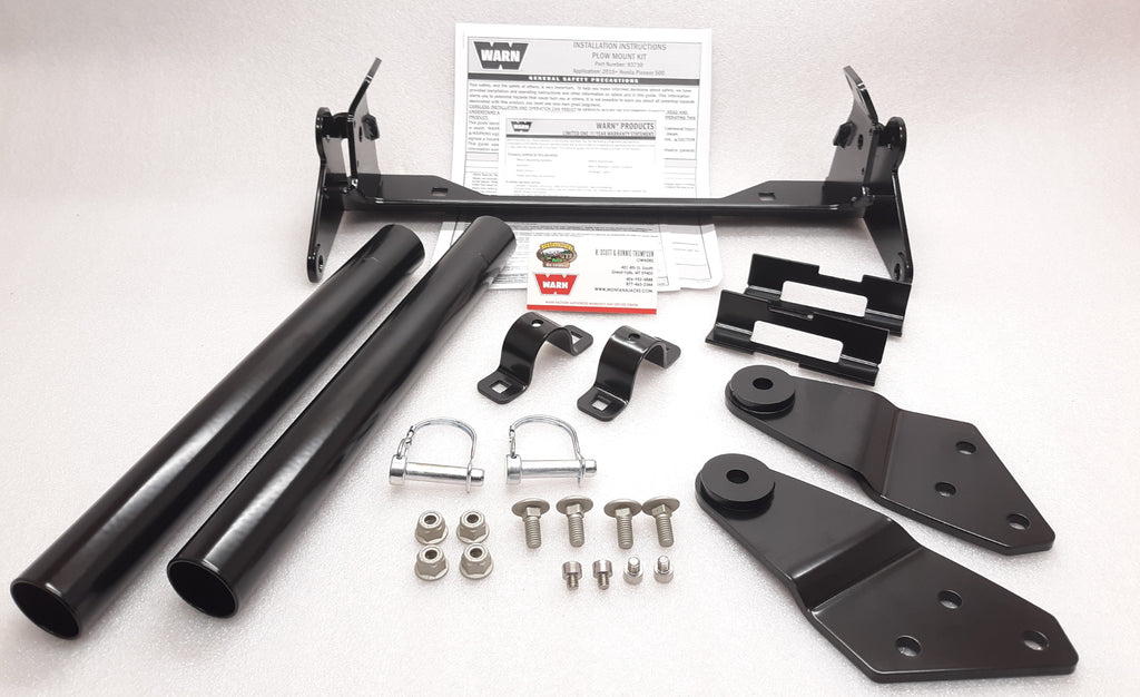 WARN 93730 UTV Plow Mount for Honda