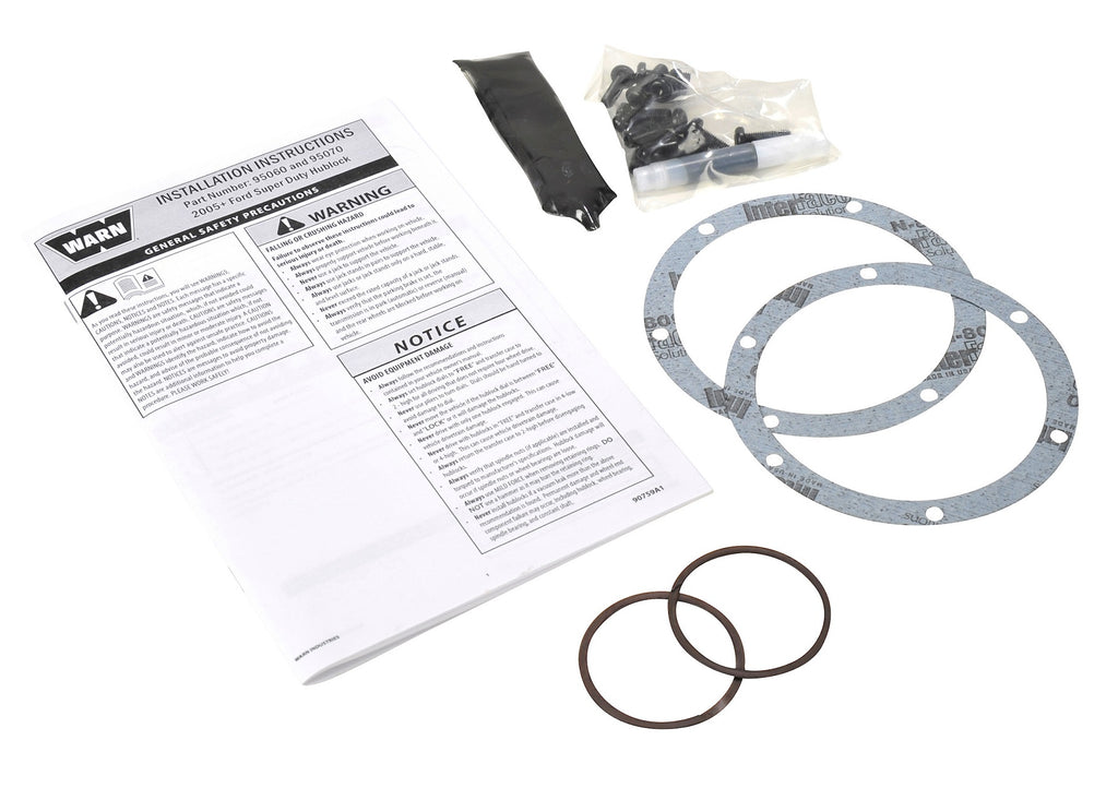 WARN 95080 4WD Hub Service Kit for '05 & up Ford F-Super Duty