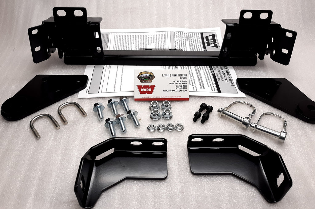 WARN 95160 ATV Plow Mount for 2015-18 Polaris Sportsman